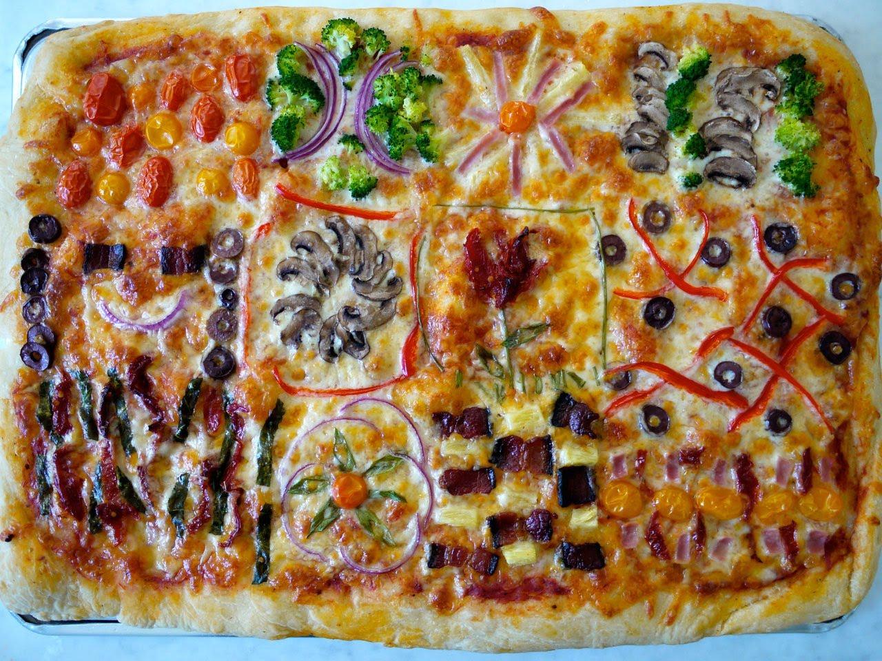 Как да направим здравословна пица за деца