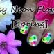 Лесен лак с неонови цветя