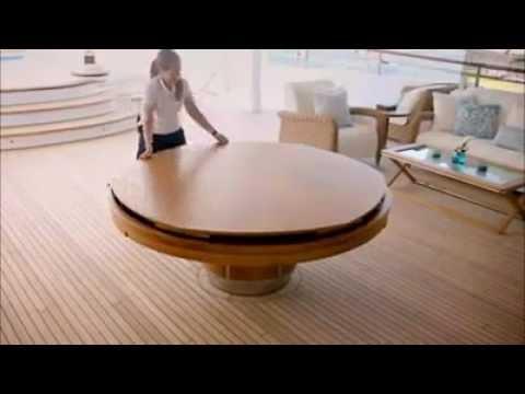 Уникална маса с механизъм която бихте искали да имате във вашата къща