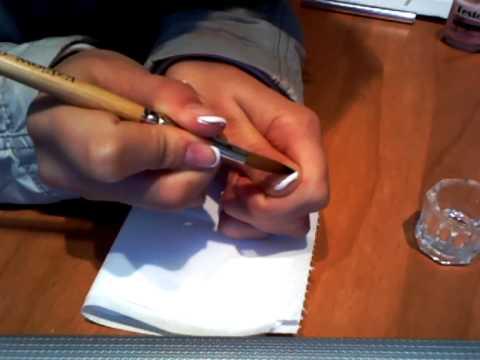 Перфектен френски маникюр за къси нокти