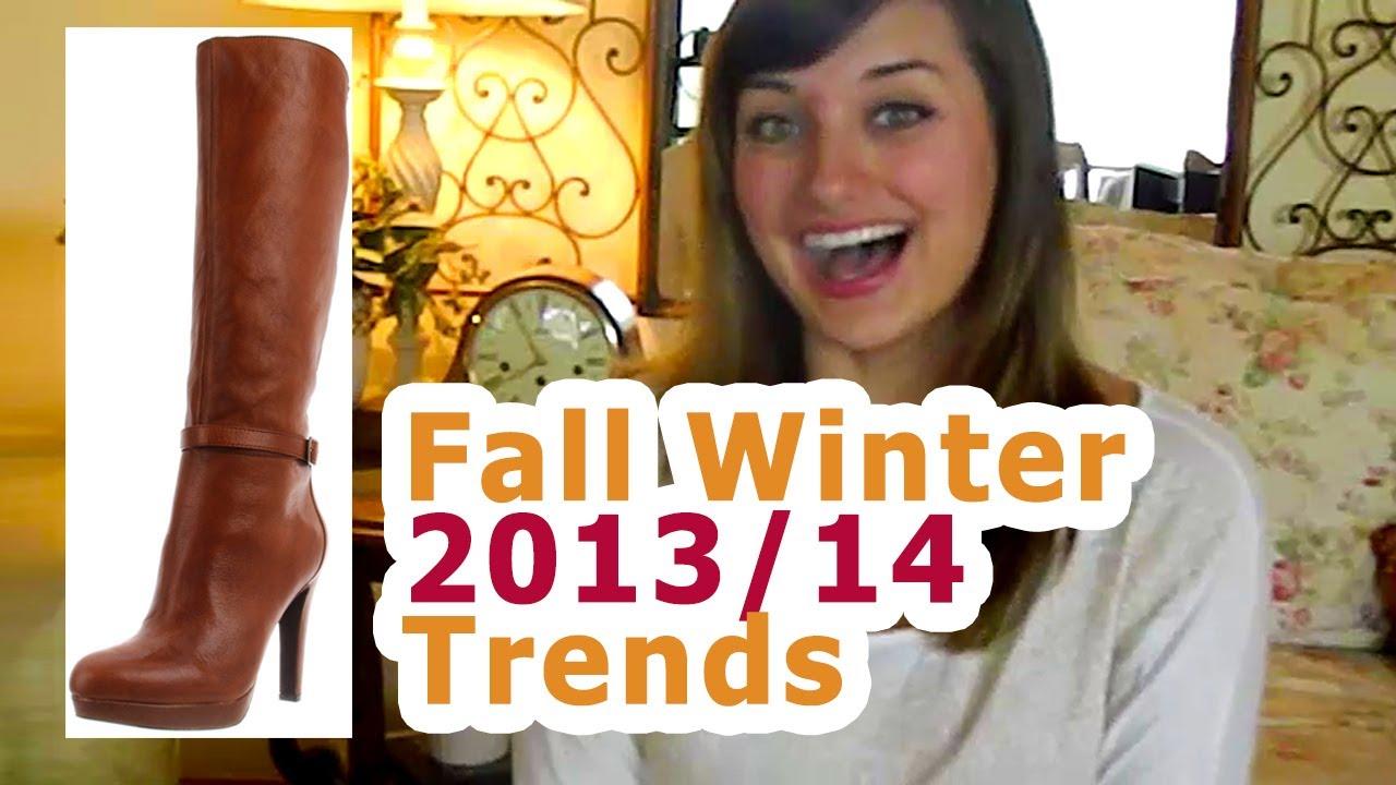 Обувки и ботуши за есен зима 2013-2014