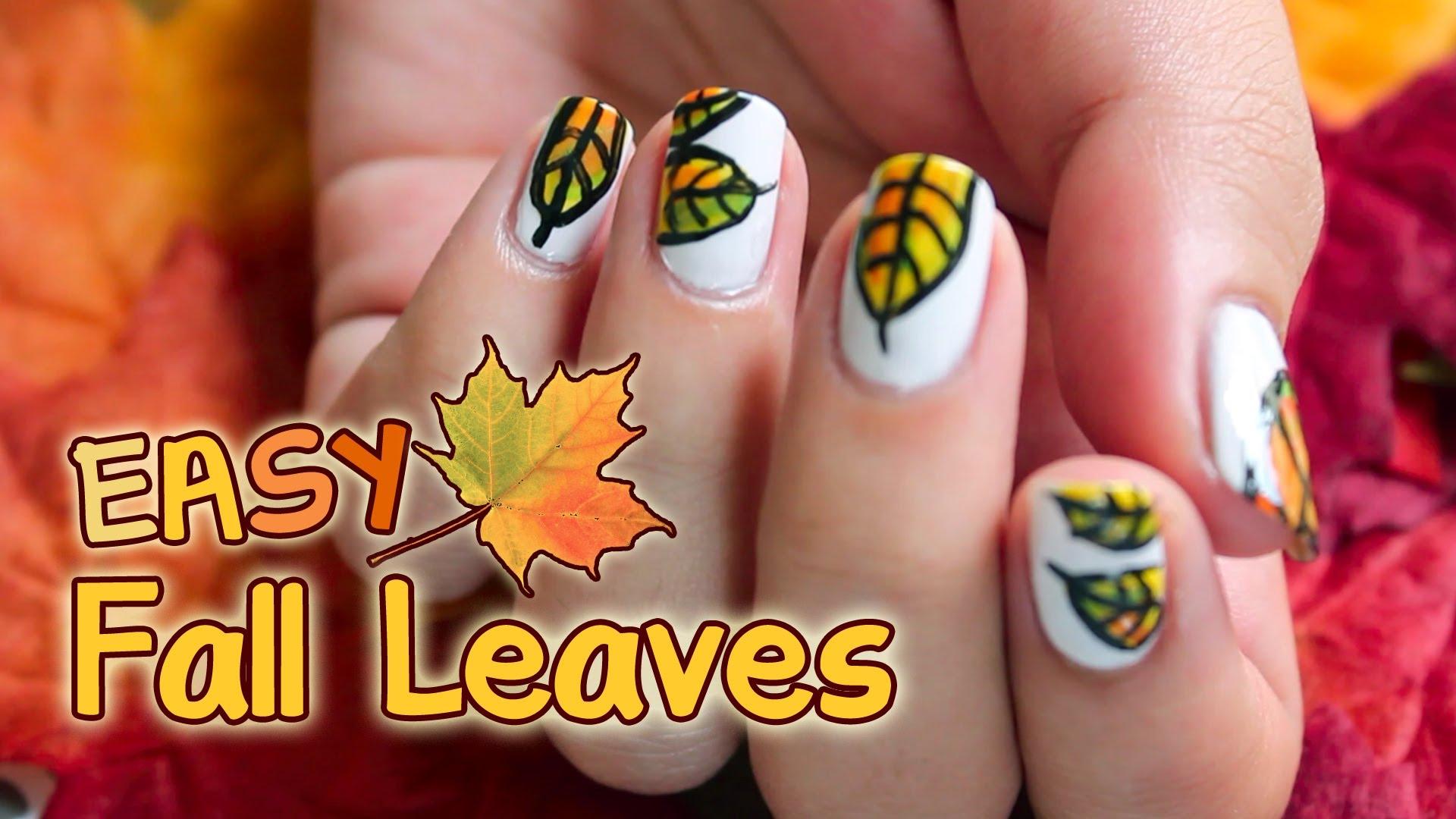 Лак с есенни листа