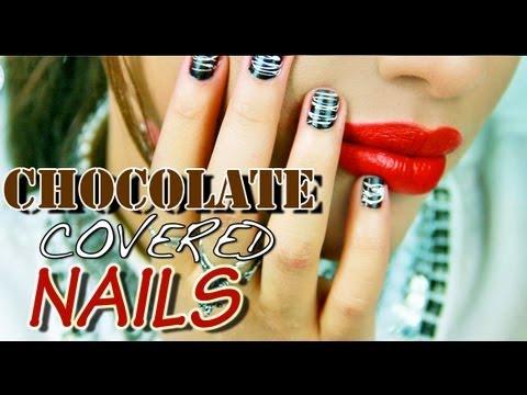 Маникюр като шоколад