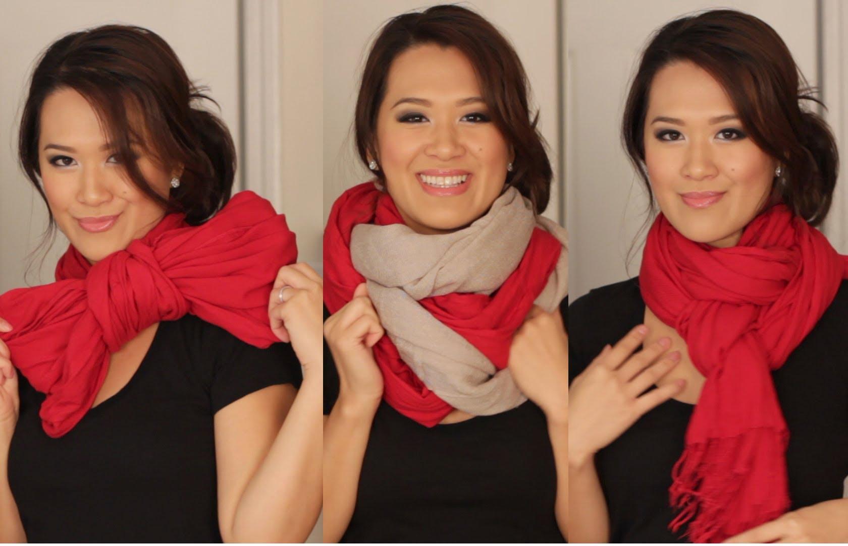 6 начина да носите шал през зимата