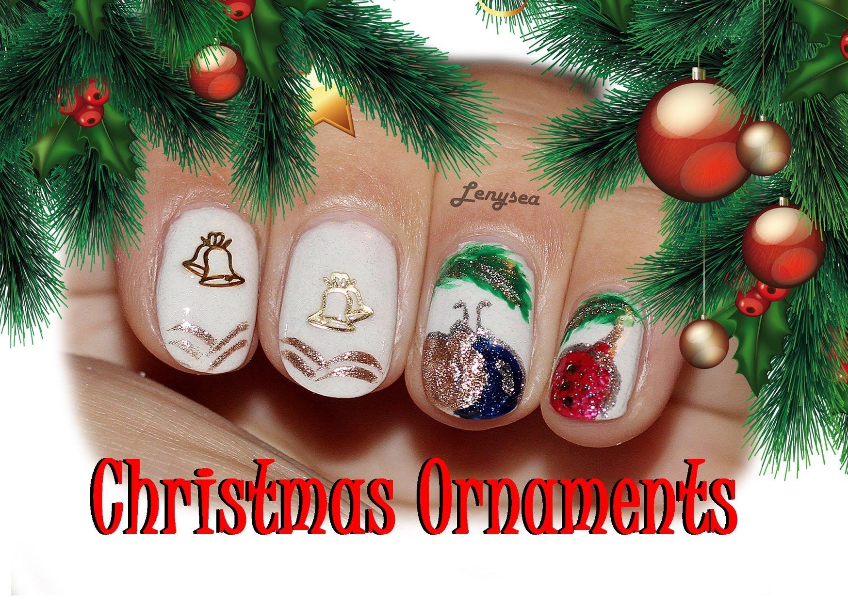 Коледен лак за къси нокти