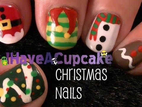 Уникални Коледни нокти