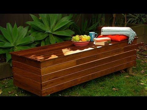 Как да си направим пейка за двора