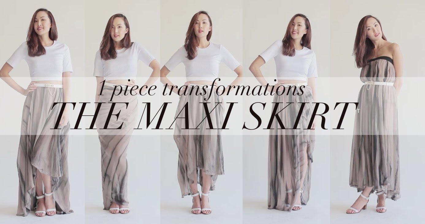 5 начина да носим дълга пола