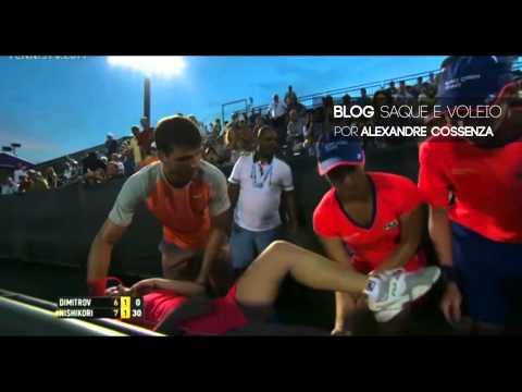 Григор Димитров спаси дете в Маями по време на мач