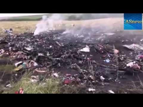 Катастрофата с малайзийския самолет