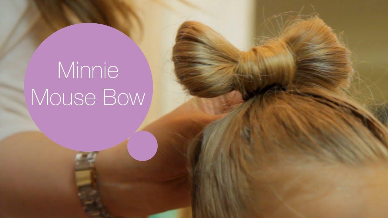 Как да направите прическа стил Мини - Мики Маус