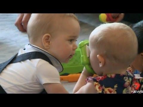 Малкият принц Джордж - първата любов
