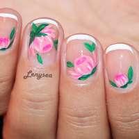 Как да си направим красив флорален маникюр?