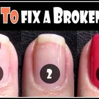 Как да поправите счупен нокът бързо и лесно