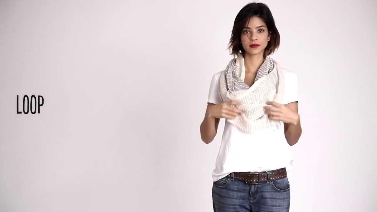6 начина да носите шала се през пролетта на 2014!