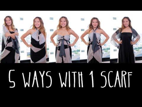5 начина за носене на шал