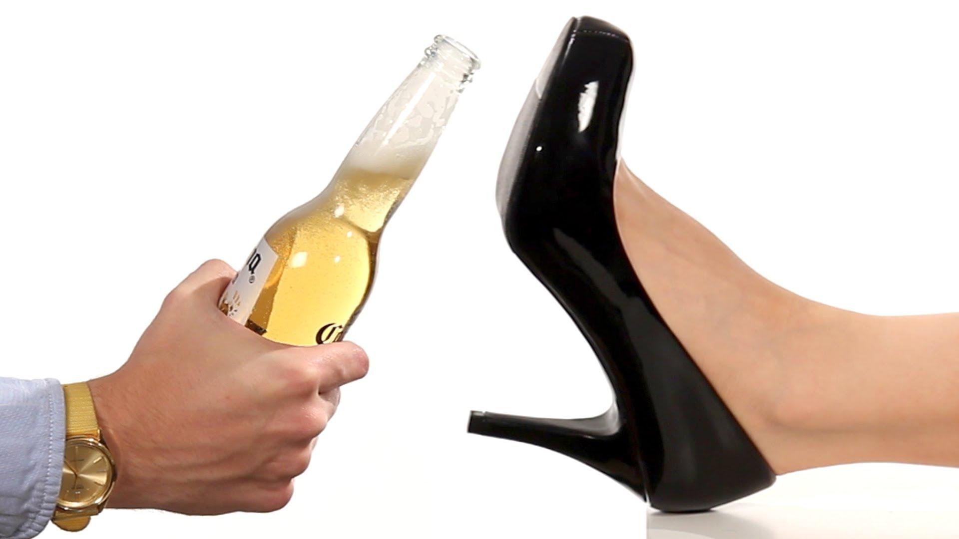 Интересни начини за отваряне на бира