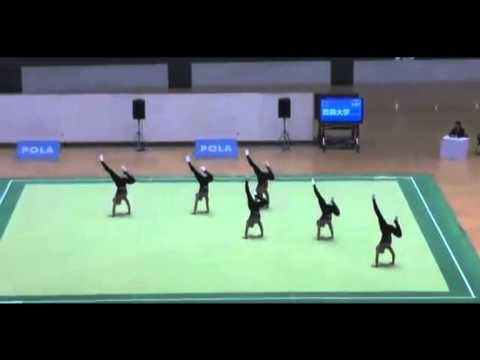 Уникален синхрон на японските гимнастички