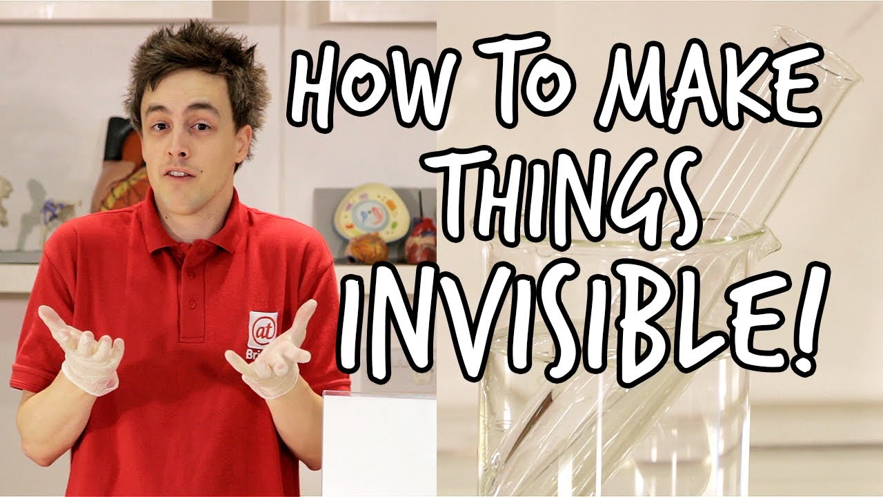 Как да направим стъклото невидимо?