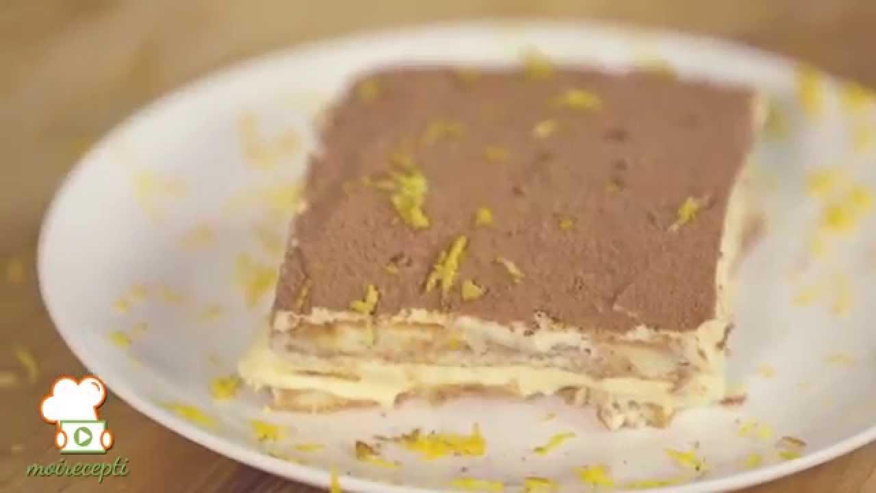Видео рецепта: тирамису с аромат на лимон и уиски