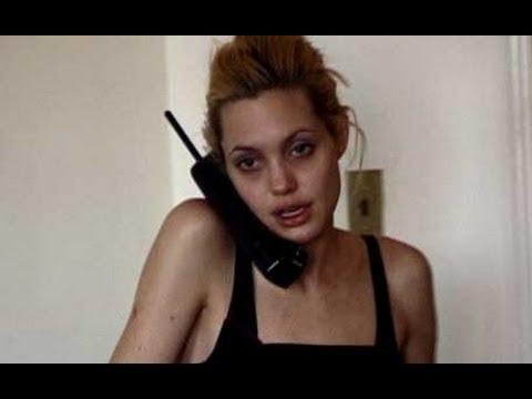 Видео на Анджелина Джоли под въздействие на наркотици