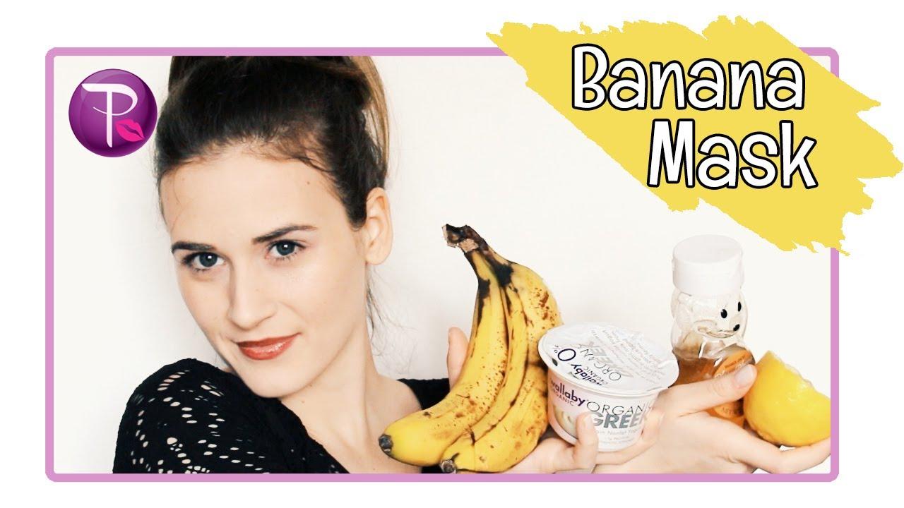 Маска за лице с банан