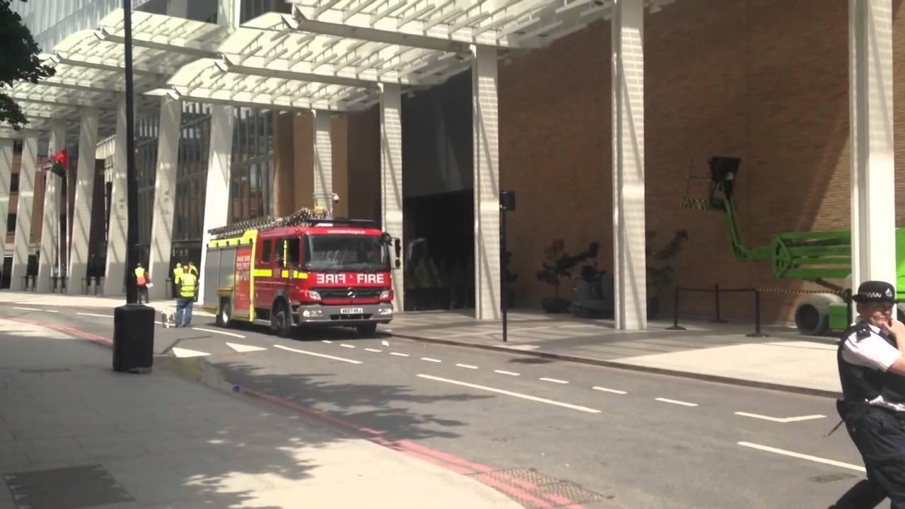 Евакуация на най-високата сграда в Лондон