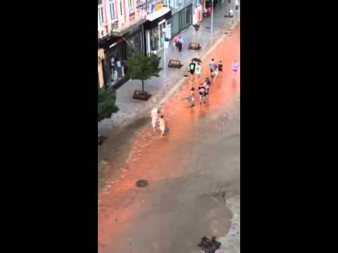 Наводнение Варна