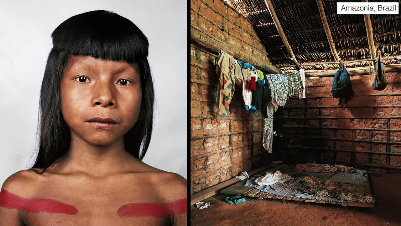 Къде спят децата по света - някои тънат в охолство, други в нищета! (Видео)