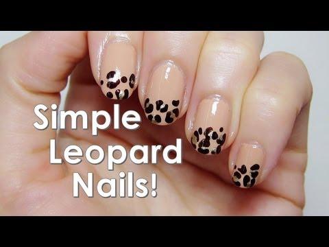Как се прави маникюр с леопардова шарка