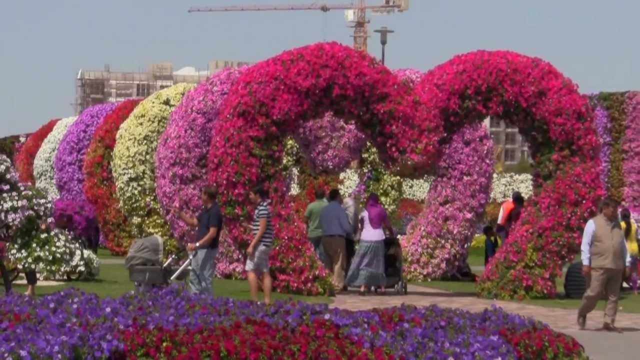 Цветна градина в Дубай, която ще ви остави без дъх