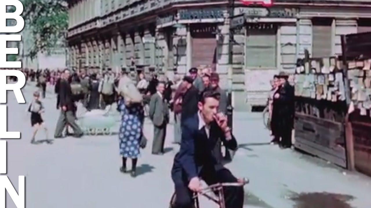 Шокираща цветно видео отпреди 70 години