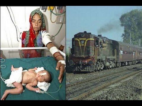 Бебе се роди във влак и падна на релсите