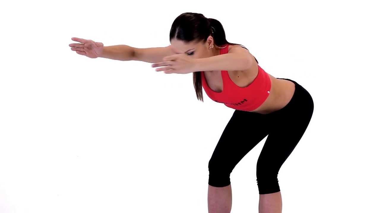 Упражнения за гърди и стегнат корем 10 мин.
