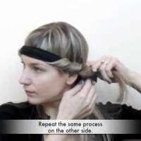 Навиване на коса без маша