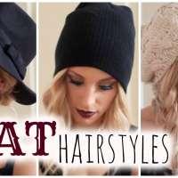 Три лесни прически за зимната ви шапка
