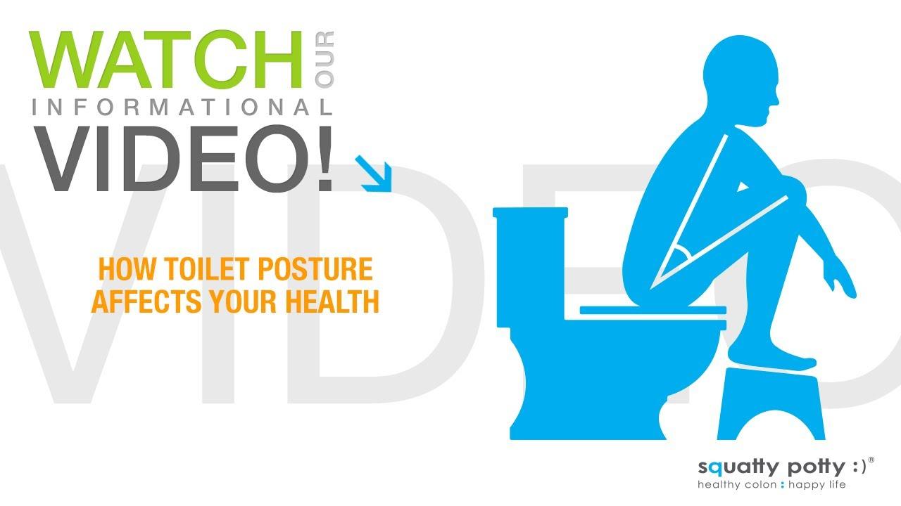 Как седенето на тоалетната чиния се отразява на вашето здраве