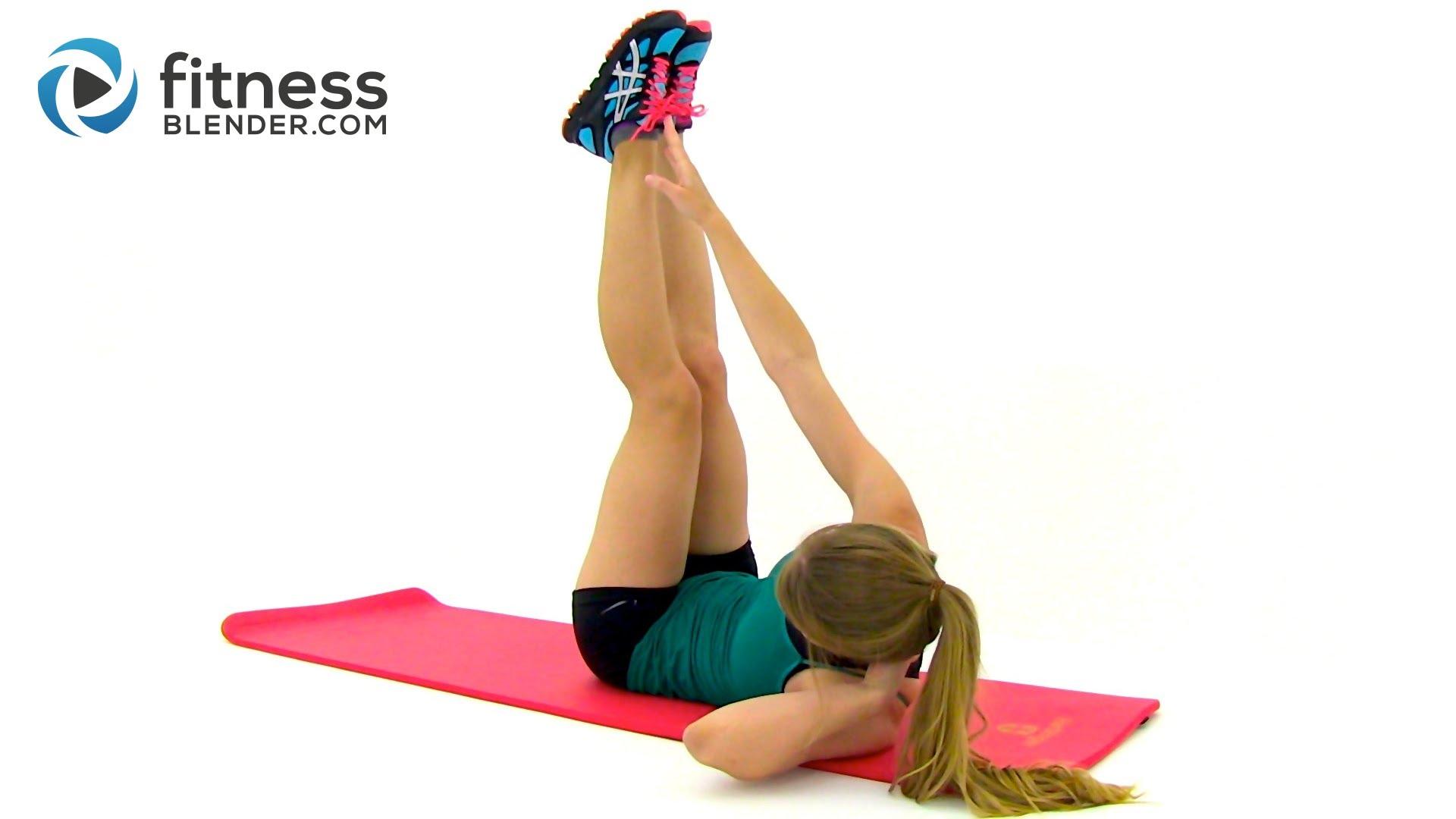 Упражнения за бързо сваляне и стягане на корема