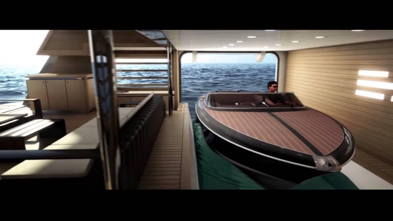 Уникално луксозна яхта