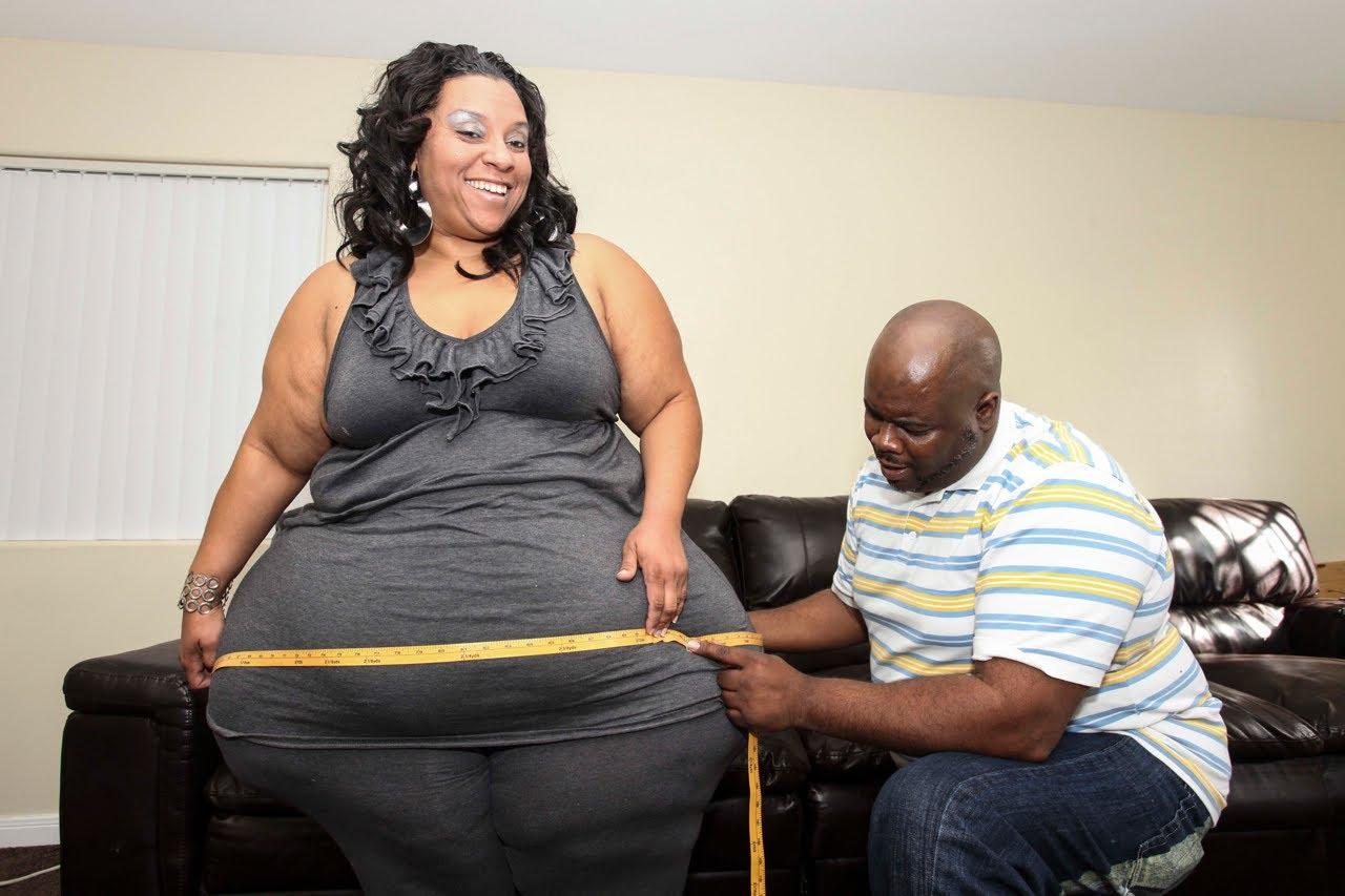 Жената с най-дебелите крака