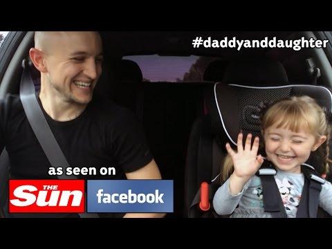 Баща и дъщеря са станали супер звезди в интернет