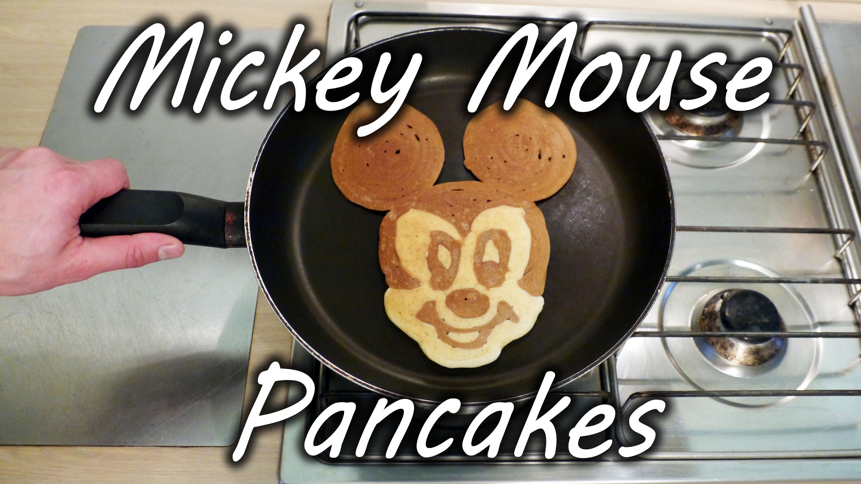 Уникални Мики Маус палачинки за 1 минутка
