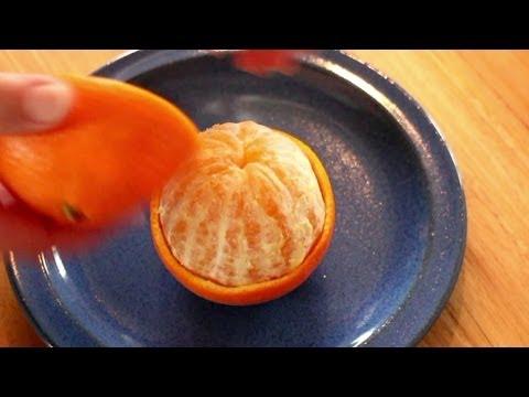 Как лесно и бързо да oбелите портокал