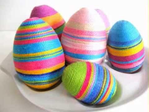 Идея за декорация на яйца и украса за Великден