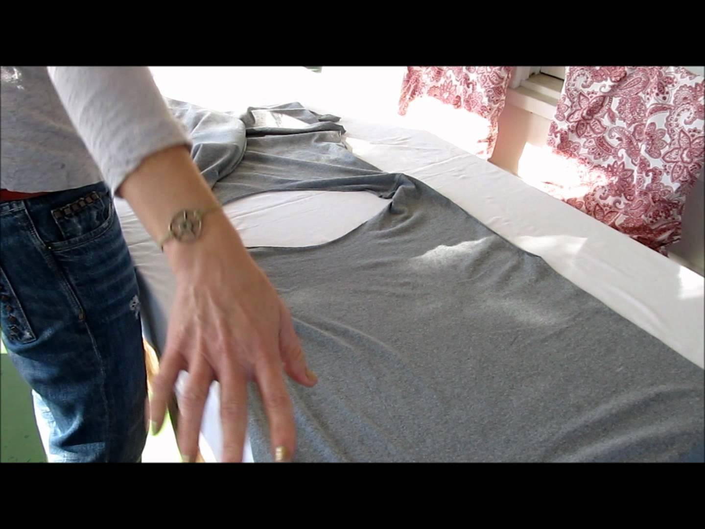 Направете си модерно елече от стара тениска