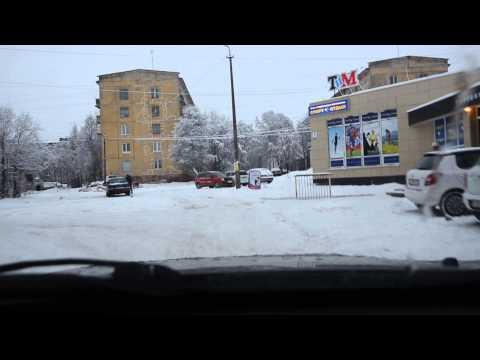 Най-нормално си кара в снега, И ИЗВЕДНЪЖ СЕ СЛУЧВА ТОВА!