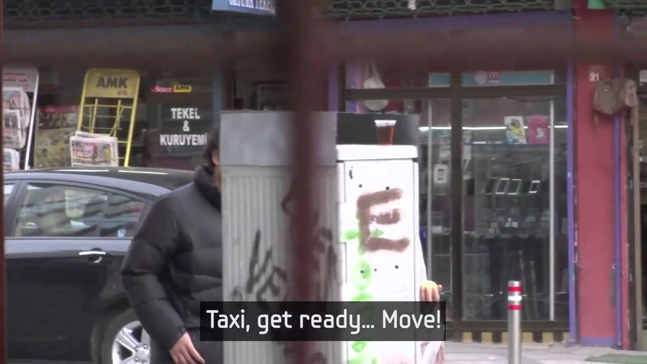 Целият град говори с езика на знаците