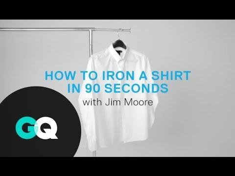 Как да изгладите ризата си бързо и лесно