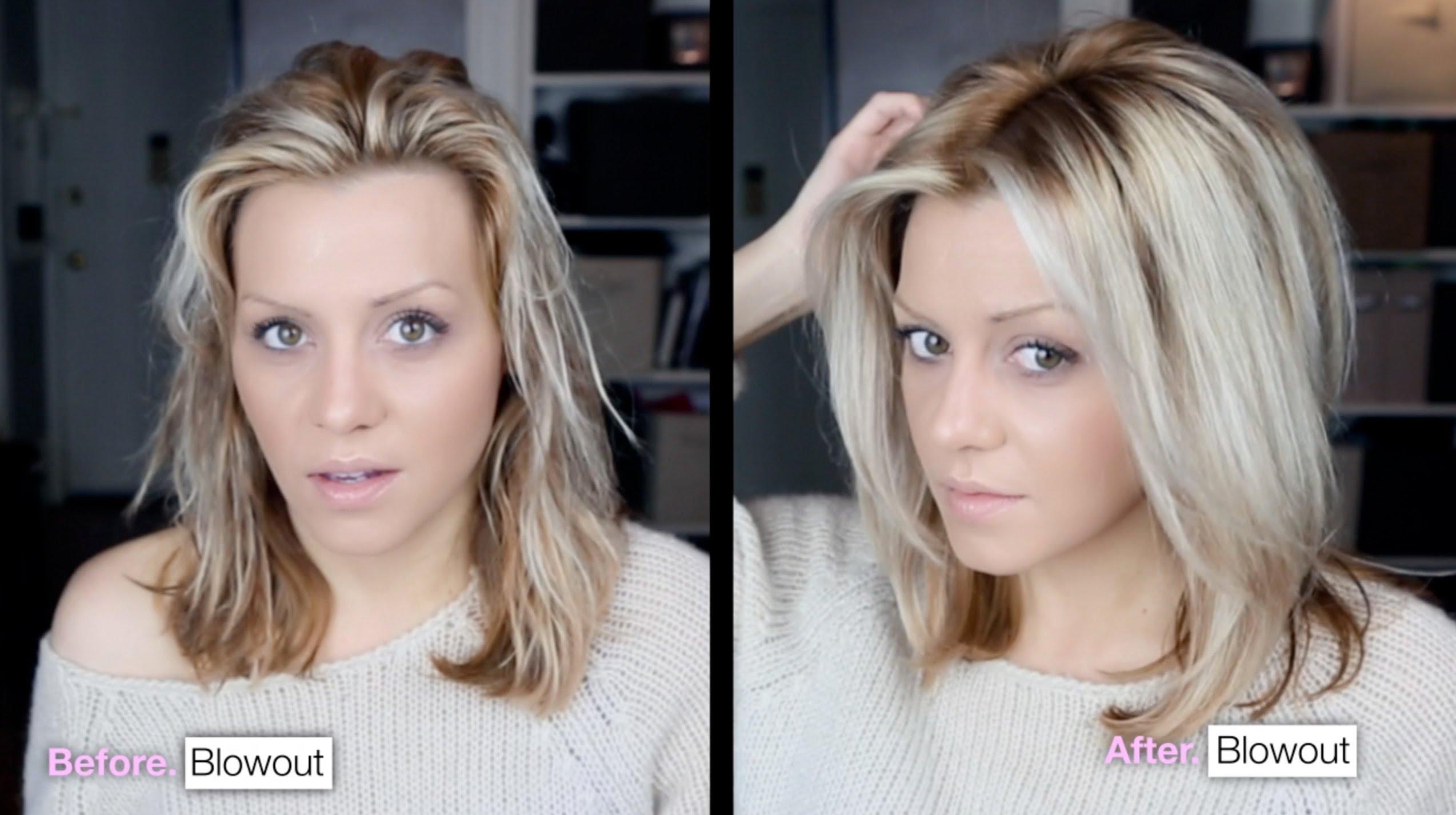 Изправяне на коса в домашни условия
