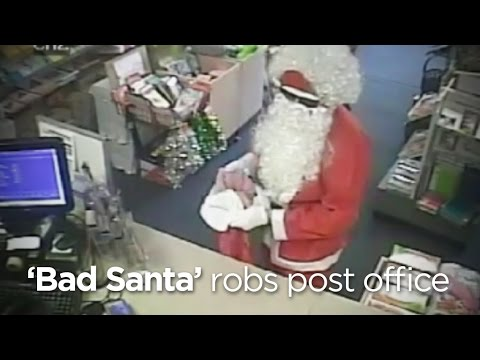 Дядо Коледа краде